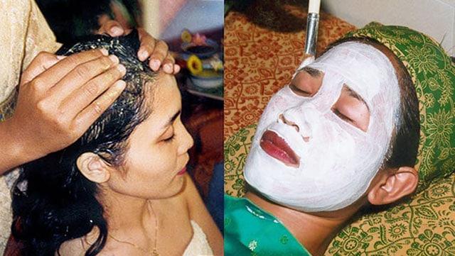 护发 巴厘式面部护理