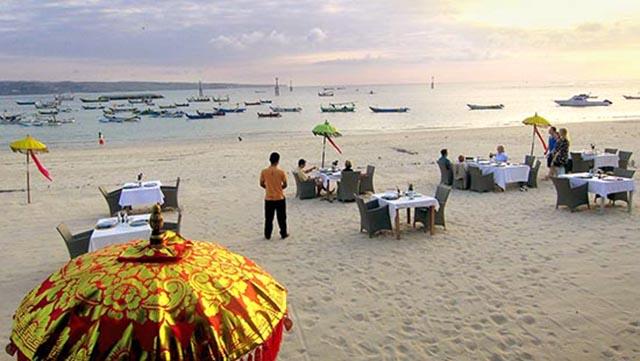 海滩餐厅 金巴兰