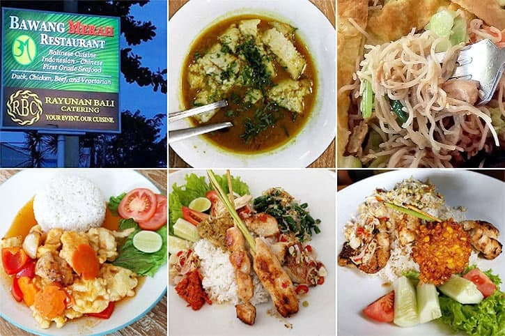 位于努沙杜瓦的印尼风味餐厅